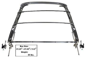 Picture of CONVERTIBLE TOP FRAME ASSY 67-69 : 1000 FIREBIRD 67-69