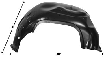 Picture of FENDER INNER FRONT 70-81 TRANS AM : 1039ZC FIREBIRD 70-81