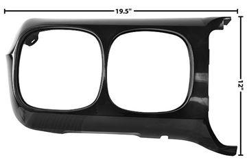 Picture of HEADLAMP BEZEL RH 69 : M1069C FIREBIRD 69-69