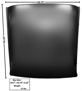 Picture of ROOF PANEL 70-74 : 1004G FIREBIRD 70-74