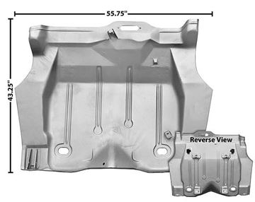 Picture of TRUNK FLOOR PAN 1970-73 COMPLETE : 1048ZWT FIREBIRD 70-73
