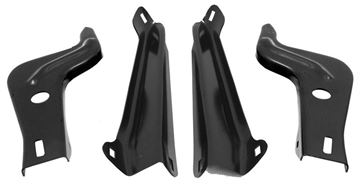 Picture of BUMPER BRACKET FRONT 4PC/SET 66-67 : 1570A GTO 66-67