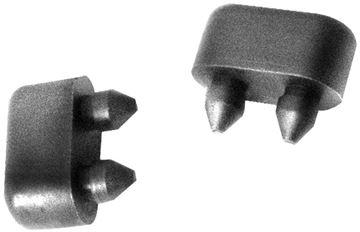 Picture of DOOR BUMPER, 2 PCS/SET ALL 68-72 : 1485G GTO 68-72
