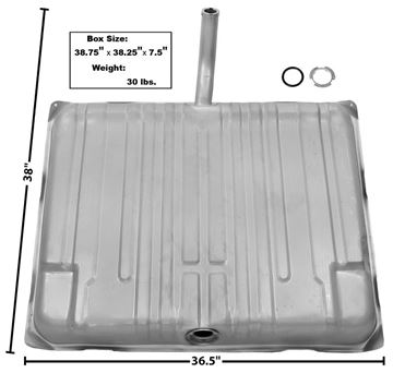 Picture of GAS TANK 1964 W/FILL NECK : T74 GTO 64-64