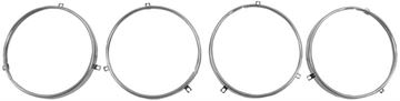 Picture of HEADLAMP RING SET OF 4 PICKUP 58-61 : LH31 GTO 67-70