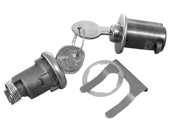 Picture of LOCK KIT TRUNK & GLOVEBOX ORIGINAL : 172A GTO 64-65