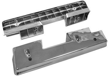 Picture of ARM REST BASE CHROME 1962-64 PAIR : M1714 IMPALA 62-64