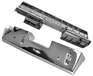 Picture of ARM REST BASE CHROME 1965-67 PAIR : M1715 IMPALA 65-67