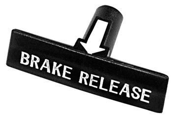 Picture of BRAKE RELEASE HANDLE 64-67 CHEVELLE : M1339 IMPALA 63-70