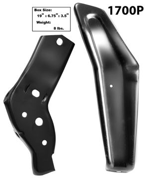 Picture of BUMPER BRACKET REAR RH 64 2PC/SET : 1700P IMPALA 64-64