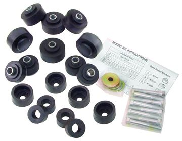 Picture of BUSHING BODY KIT W/BOLTS 67-68 HT : M1728B IMPALA 67-68