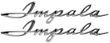Picture of EMBLEM REAR QUARTER SCRIPT 61 : EM2128 IMPALA 61-61