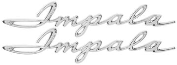 Picture of EMBLEM REAR QUARTER SCRIPT 62 : EM2171 IMPALA 62-62