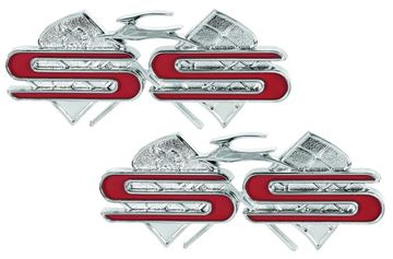 Picture of EMBLEM SS REAR QUARTER 61 : EM2127 IMPALA 61-61