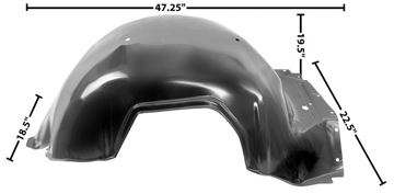 Picture of FENDER INNER LH 65 : 1723 IMPALA 65-65