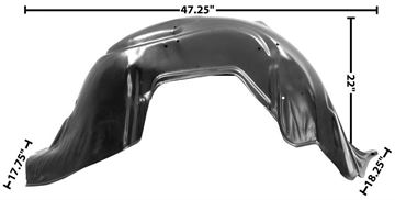 Picture of FENDER INNER RH 62 : 1719Y IMPALA 62-62