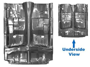 Picture of FLOOR PAN COMPLETE 65-70 W/ROCKER : 1783WT IMPALA 65-70