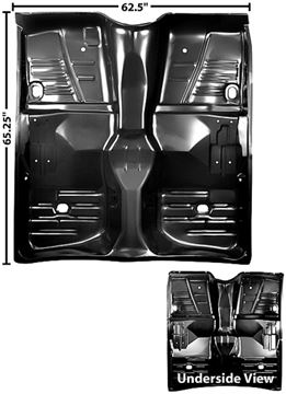Picture of FLOOR PAN FULL 61-64 ONLY : 1700GA IMPALA 61-64