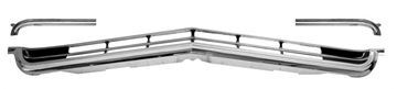 Picture of GRILLE LOWER 66 3 PCS : M1719G IMPALA 66-66