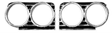 Picture of HEADLAMP BEZEL 66 PAIR : M1724H IMPALA 66-66