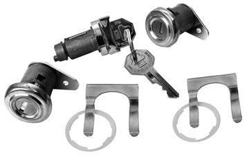 Picture of LOCK KIT IGNITION AND DOOR : 243 IMPALA 55-58