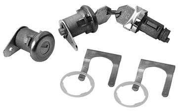 Picture of LOCK KIT IGNITION AND DOOR : 250 IMPALA 61-64