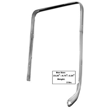 Picture of MOLDING BUCKET SEAT LH 1962-64 : M1709A IMPALA 62-64
