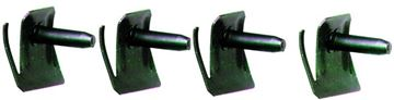 Picture of MOLDING CLIPS/REAR WINDOW CORNER : M1705H IMPALA 62-64