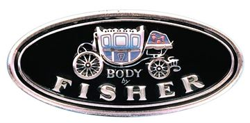 Picture of SILL PLATE DECAL BODY BY FISHER : FL01 IMPALA 62-68