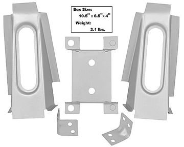 Picture of CONV BRACKET KIT FOR BODY SHELL : 65CVBRKT MUSTANG 65-66