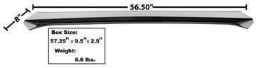 Picture of DECK LID FILLER PANEL 1967-68 CV : 3647ZDWT MUSTANG 67-68