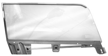 Picture of DOOR GLASS KITS 67-68 COUPE RH : 3614 MUSTANG 67-68