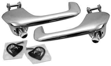 Picture of DOOR HANDLE OUTER 67/68 (PAIR) : M3617 MUSTANG 67-68