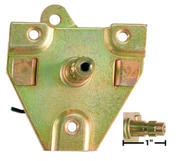 Picture of DOOR HANDLE RELAY RIGHT 1965-66 : D3616 MUSTANG 65-66