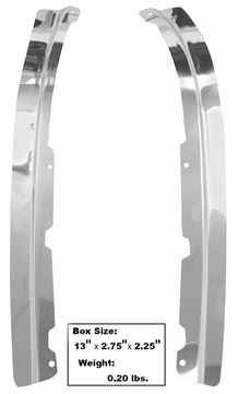 Picture of DOOR SASH ESCUTCHEON 1968 : 3640XF MUSTANG 68-68