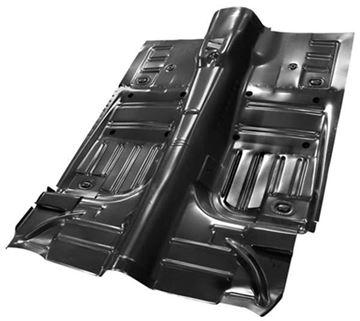 Picture of FLOOR PAN COMPLETE 1965-73 CV : 3648B MUSTANG 65-73