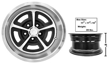 Picture of FORD MAGNUM ALLOY WHEEL 15 X 8 : FW158 MUSTANG 65-73