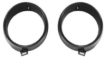Picture of HEADLAMP BEZEL 1969 PAIR INNER ONLY : X3680 MUSTANG 69-69