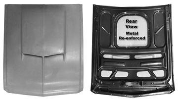 Picture of HOOD 1967-68 SMC W/ STEEL FRAME : 3641U MUSTANG 67-68