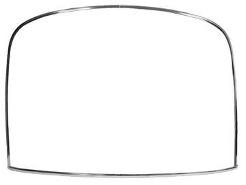 Picture of MLDG WINDOW REAR 4PC SET FB 1965-66 : M3661 MUSTANG 65-66
