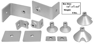 Picture of MUSTANG SHOULDER BELT MOUNTING KIT : 3500WT MUSTANG 67-68