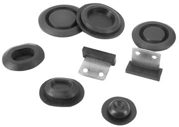 Picture of PANEL/INNER PLUG KIT 1969-70 6 PCS : 3631ZF MUSTANG 69-70