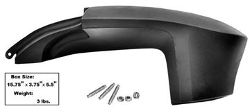 Picture of QUARTER PANEL EXTENSION LH F/B 67/8 : M3505 MUSTANG 67-68