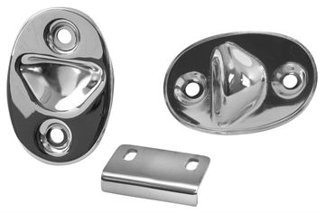Picture of SEAT SUPPORT & TRAP DOOR CATCH SET : M3509D MUSTANG 65-70
