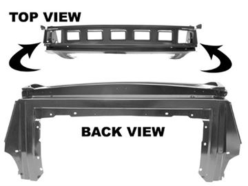 Picture of SEAT/REAR TRAP DOOR PANEL 67-68 FB : 3661FWT MUSTANG 67-68