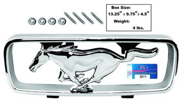 Picture of STANDARD GRILLE CORRAL & HORSE 66 : M3627A MUSTANG 66-66