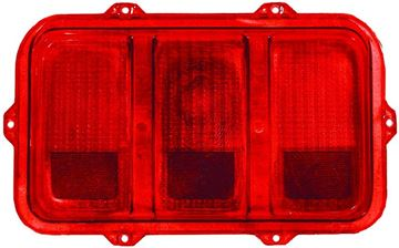 Picture of TAIL LAMP LENS 70 RH=LH : 3643MH MUSTANG 70-70