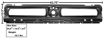 Picture of TAIL LAMP PANEL 1967 SEQUENTIAL : 3643EBWT MUSTANG 67-67