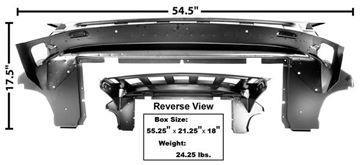 Picture of TRUNK DIVIDER/BRIDGE SUPPORT 65-66 : 3661CWT MUSTANG 65-66