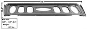Picture of TRUNK DIVIDER/PACKAGE SHELF 69-70 : 3661HWT MUSTANG 69-70